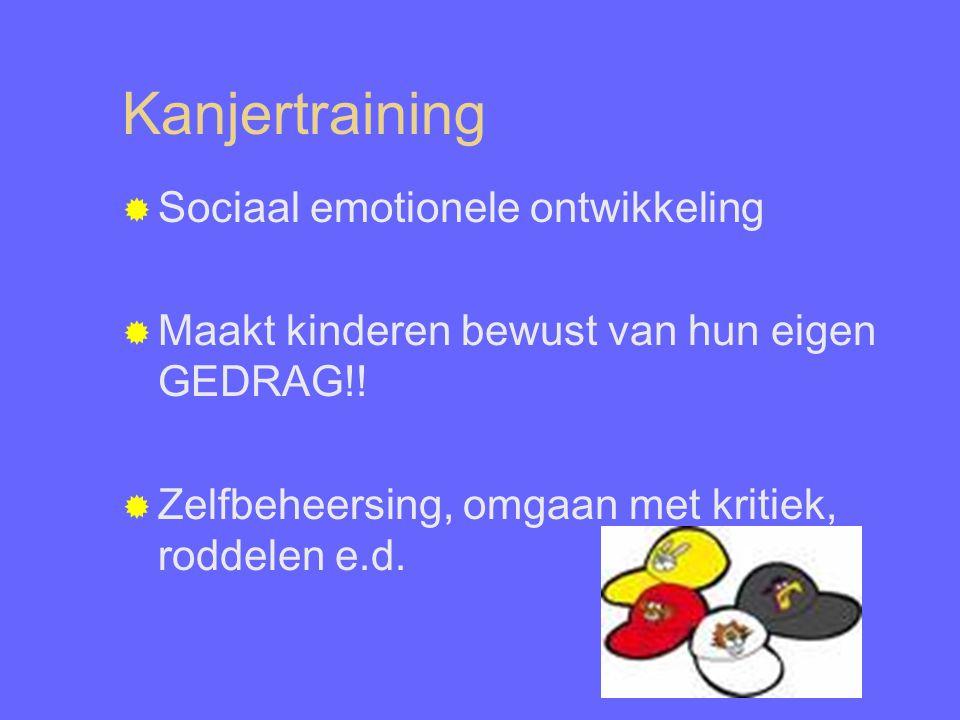 Kanjertraining Sociaal emotionele ontwikkeling