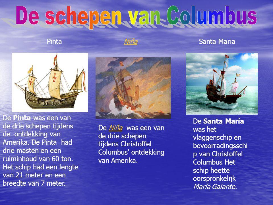De schepen van Columbus