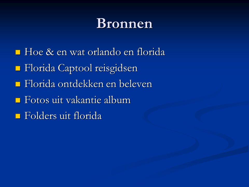 Bronnen Hoe & en wat orlando en florida Florida Captool reisgidsen