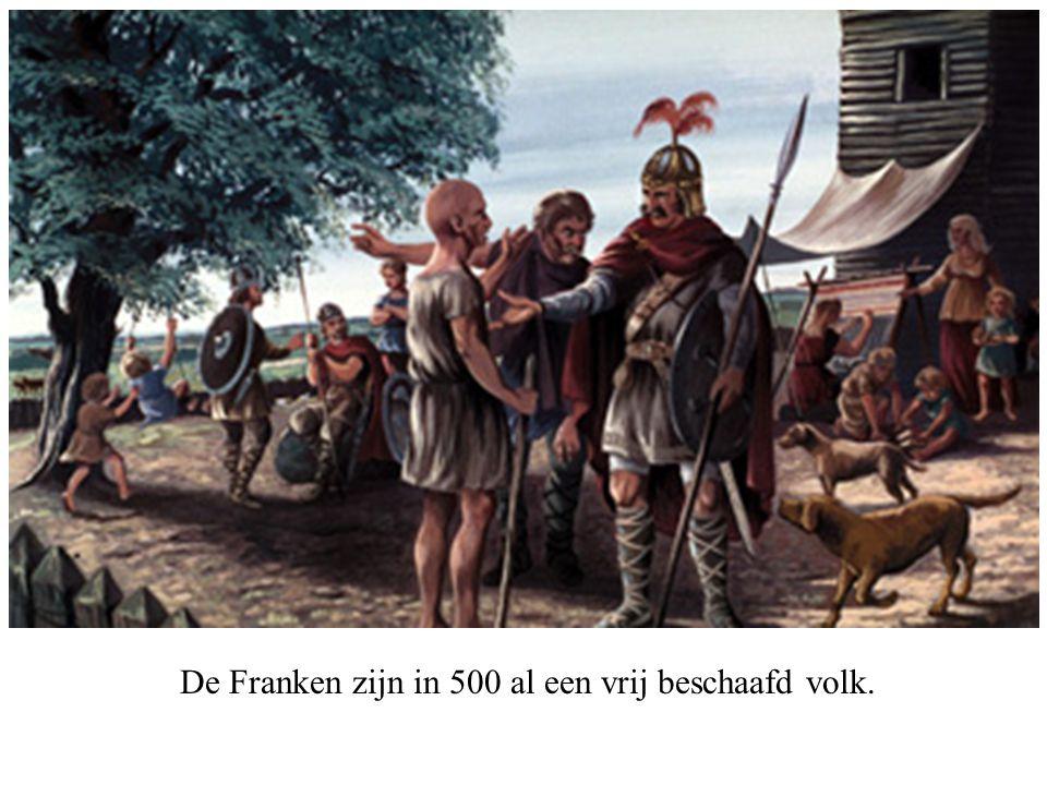 De Franken zijn in 500 al een vrij beschaafd volk.