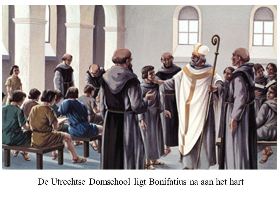 De Utrechtse Domschool ligt Bonifatius na aan het hart