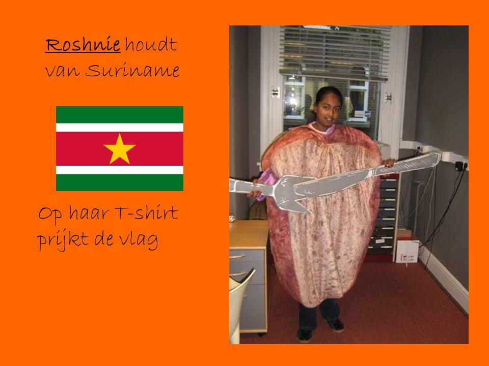Roshnie houdt van Suriname