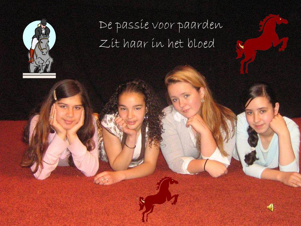De passie voor paarden Zit haar in het bloed