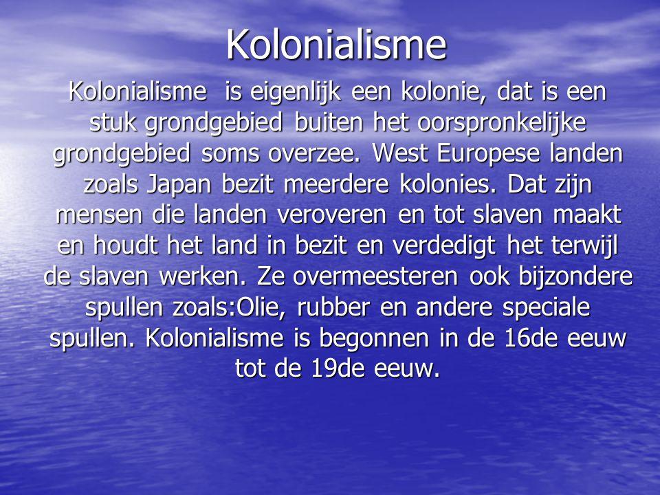Kolonialisme