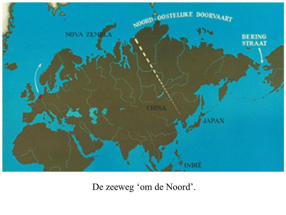 De zeeweg 'om de Noord'.