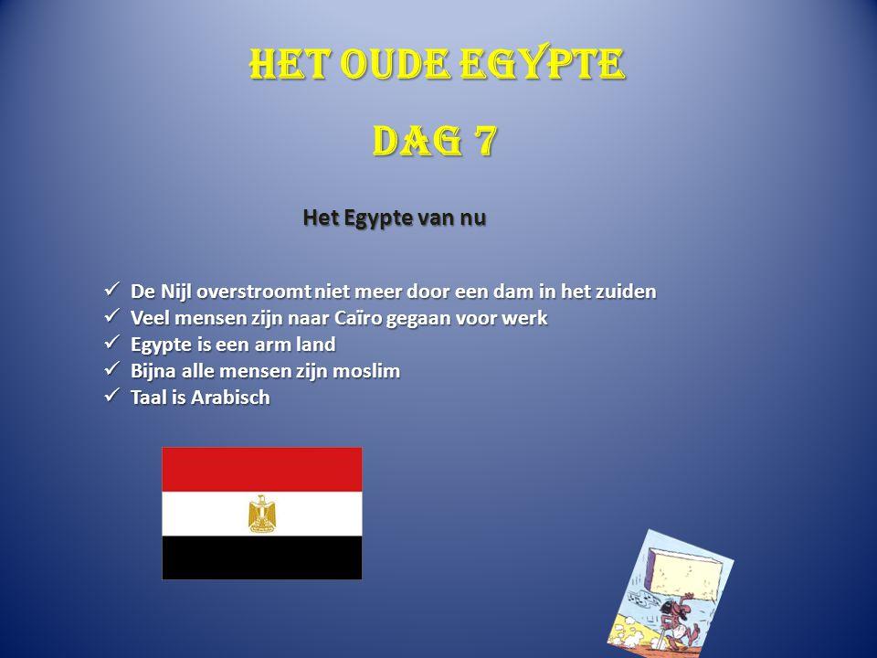Het oude Egypte Dag 7 Het Egypte van nu
