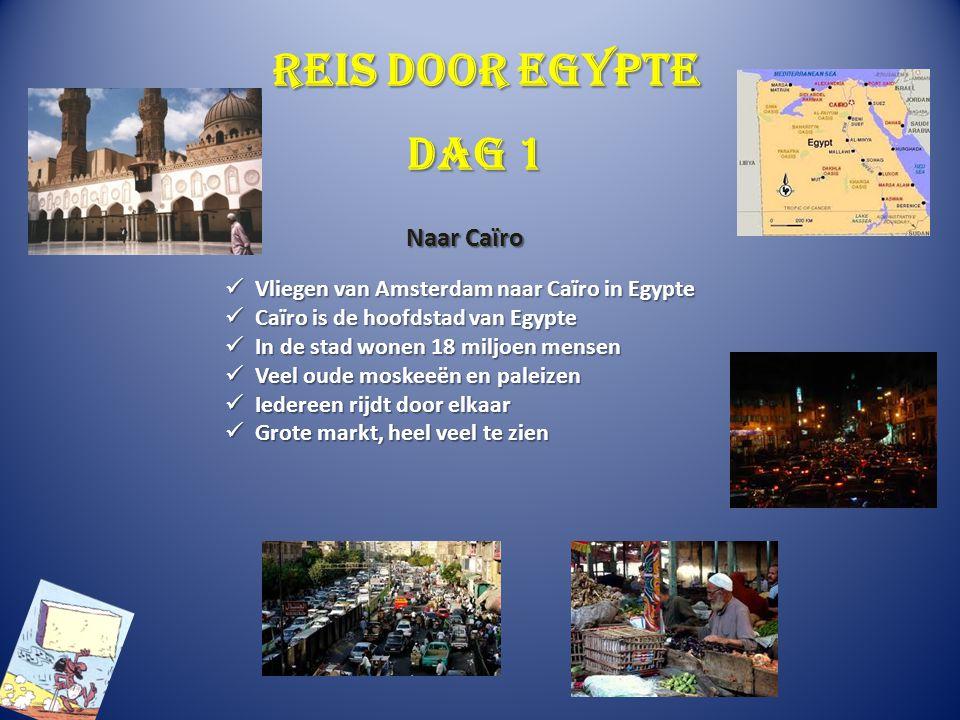 Reis door Egypte Dag 1 Naar Caïro