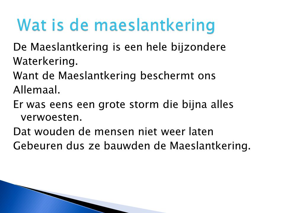 Wat is de maeslantkering