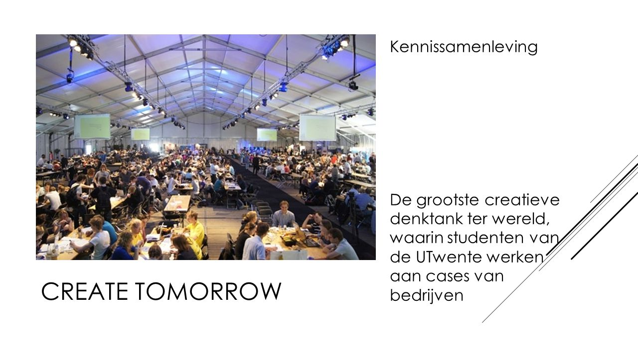 Create tomorrow Kennissamenleving