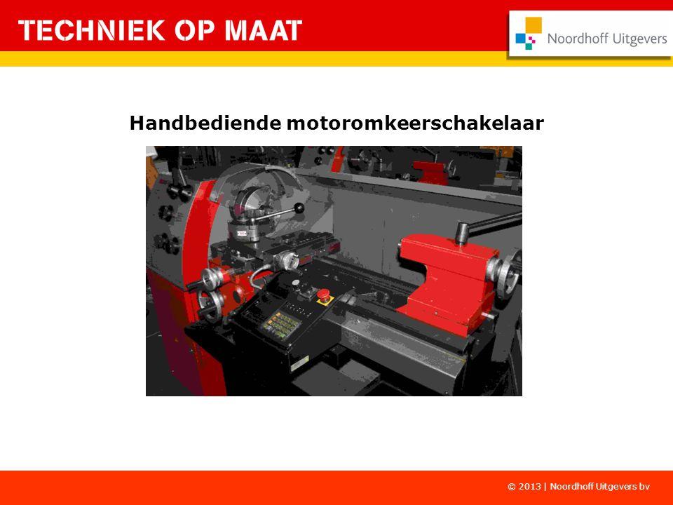 Handbediende motoromkeerschakelaar