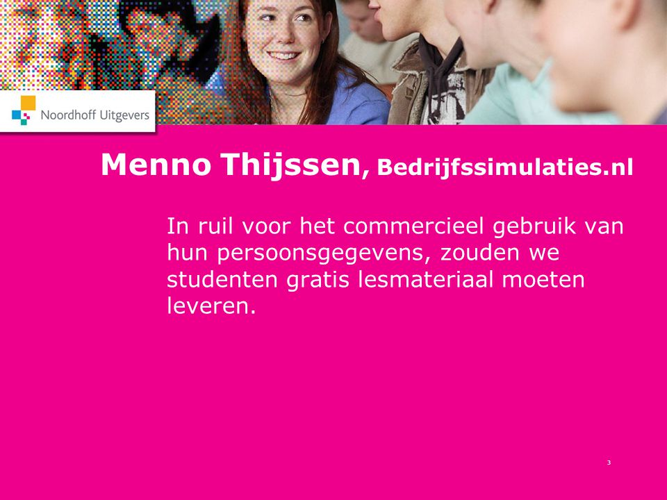 Menno Thijssen, Bedrijfssimulaties.nl