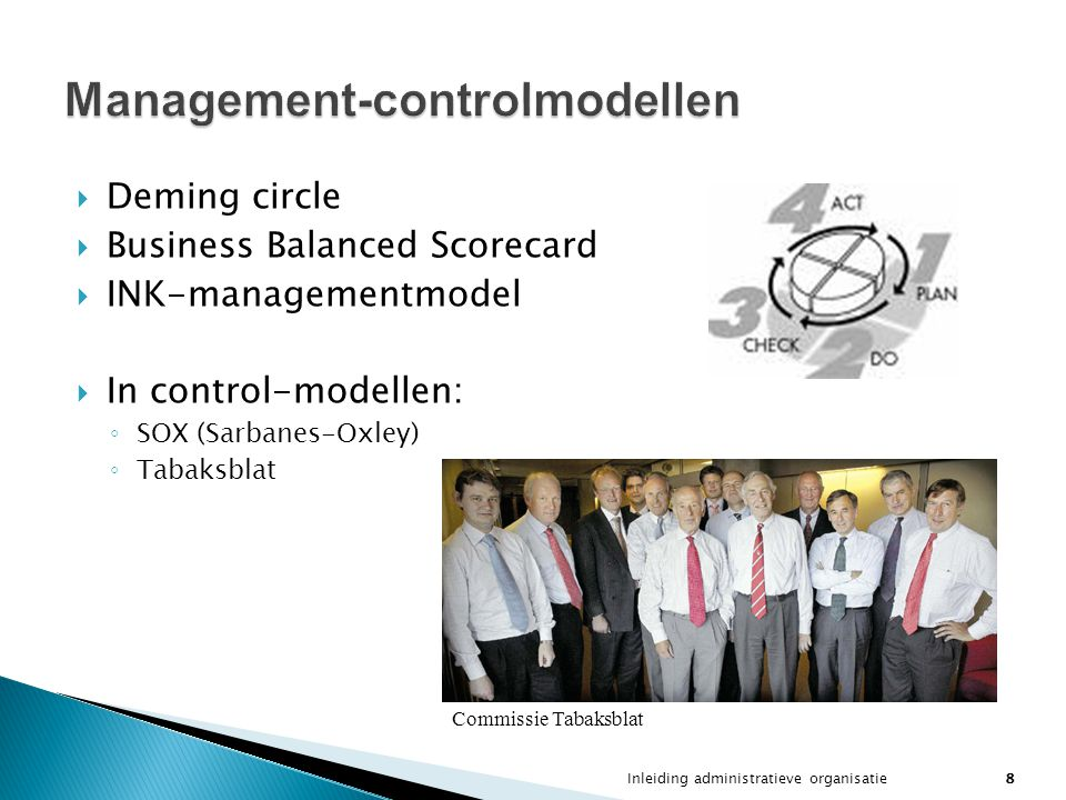Management-controlmodellen