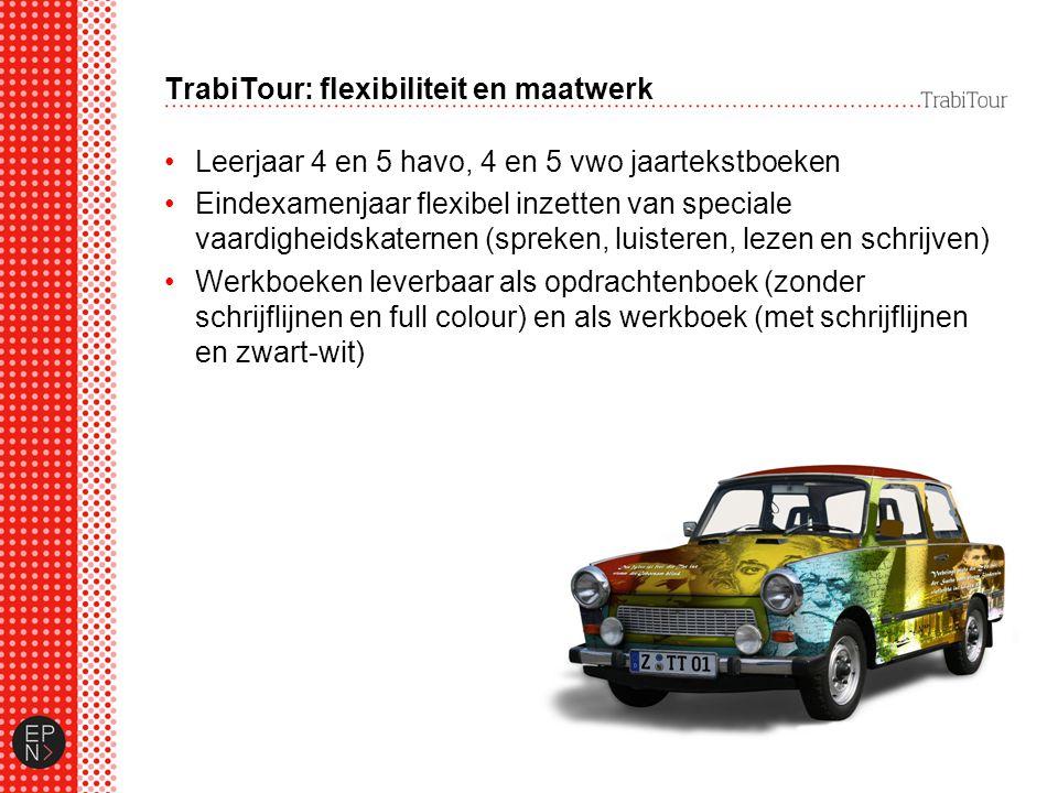 TrabiTour: flexibiliteit en maatwerk