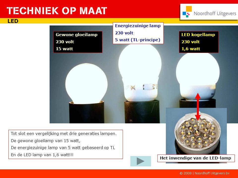 LED Energiezuinige lamp 230 volt 5 watt (TL-principe) Gewone gloeilamp