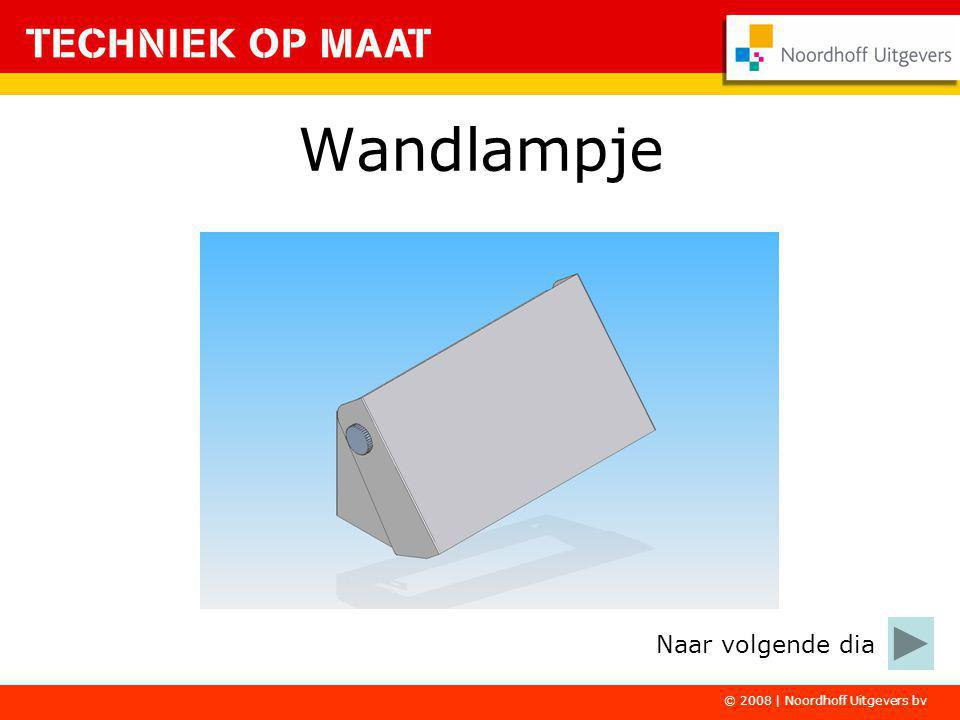 Wandlampje Naar volgende dia © 2008 | Noordhoff Uitgevers bv