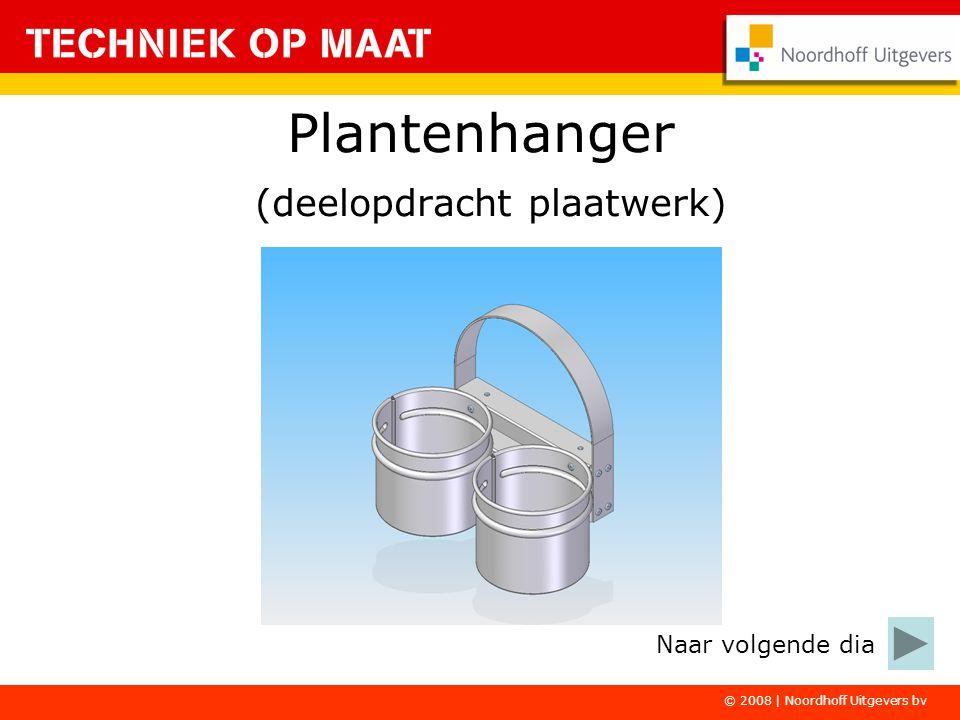Plantenhanger (deelopdracht plaatwerk)