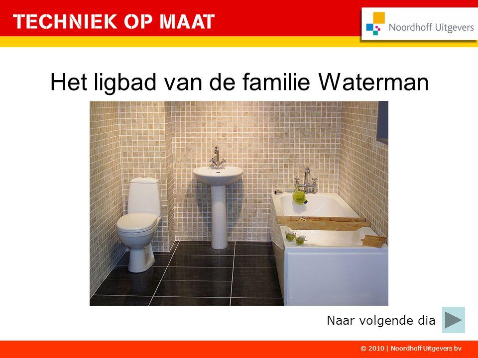 Het ligbad van de familie Waterman