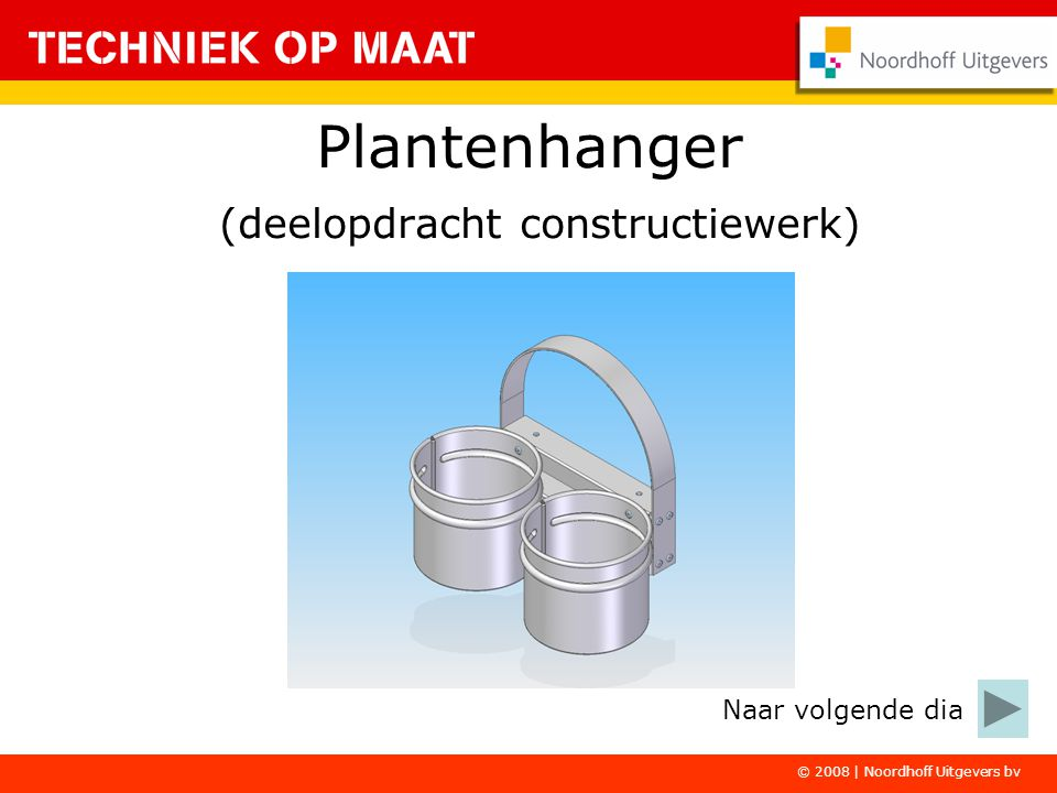 Plantenhanger (deelopdracht constructiewerk)