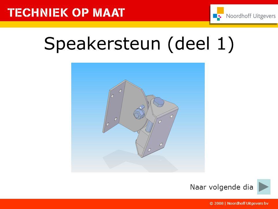 Speakersteun (deel 1) Naar volgende dia