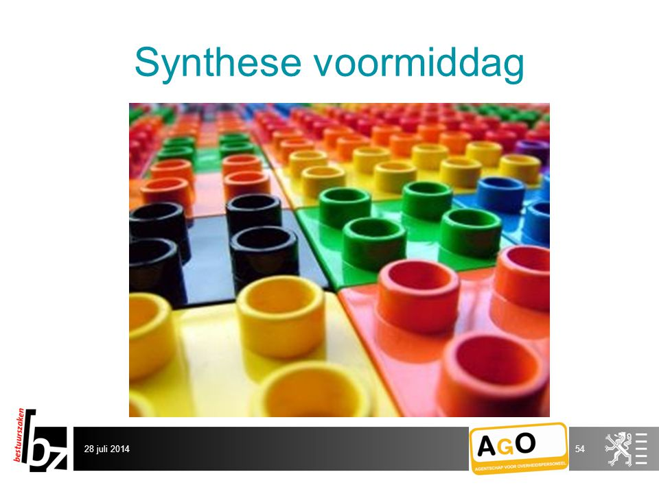 Synthese voormiddag