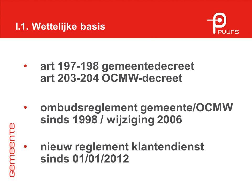 art 197-198 gemeentedecreet art 203-204 OCMW-decreet