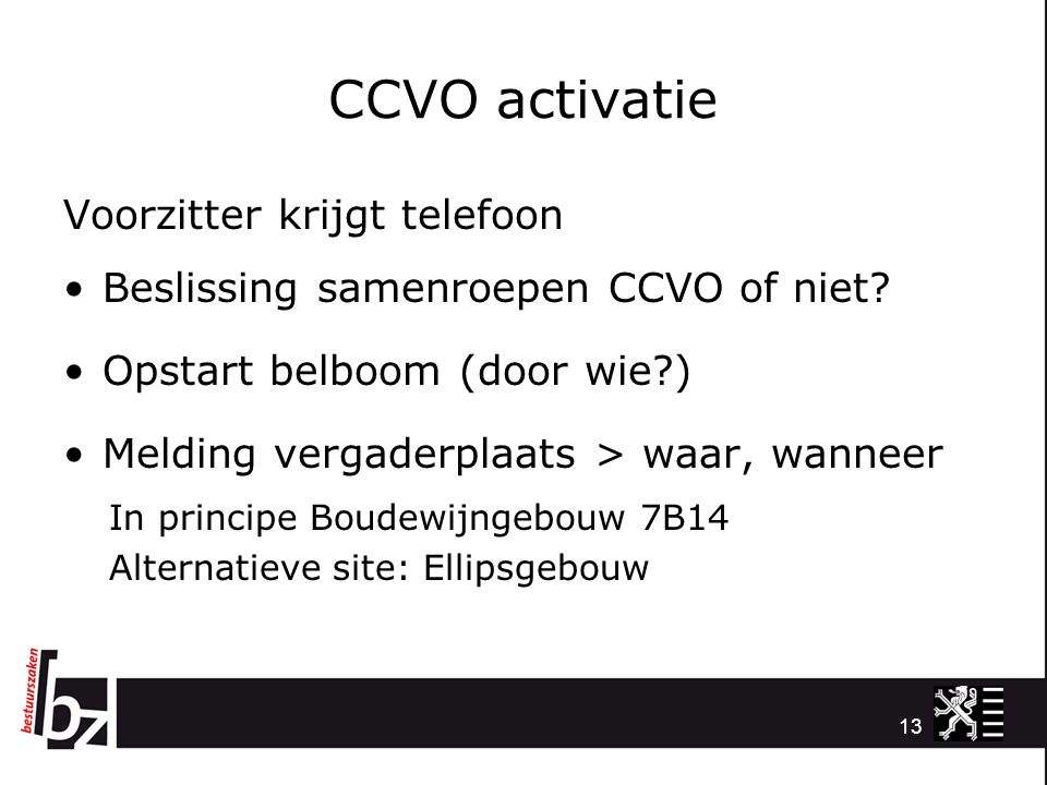CCVO activatie Voorzitter krijgt telefoon