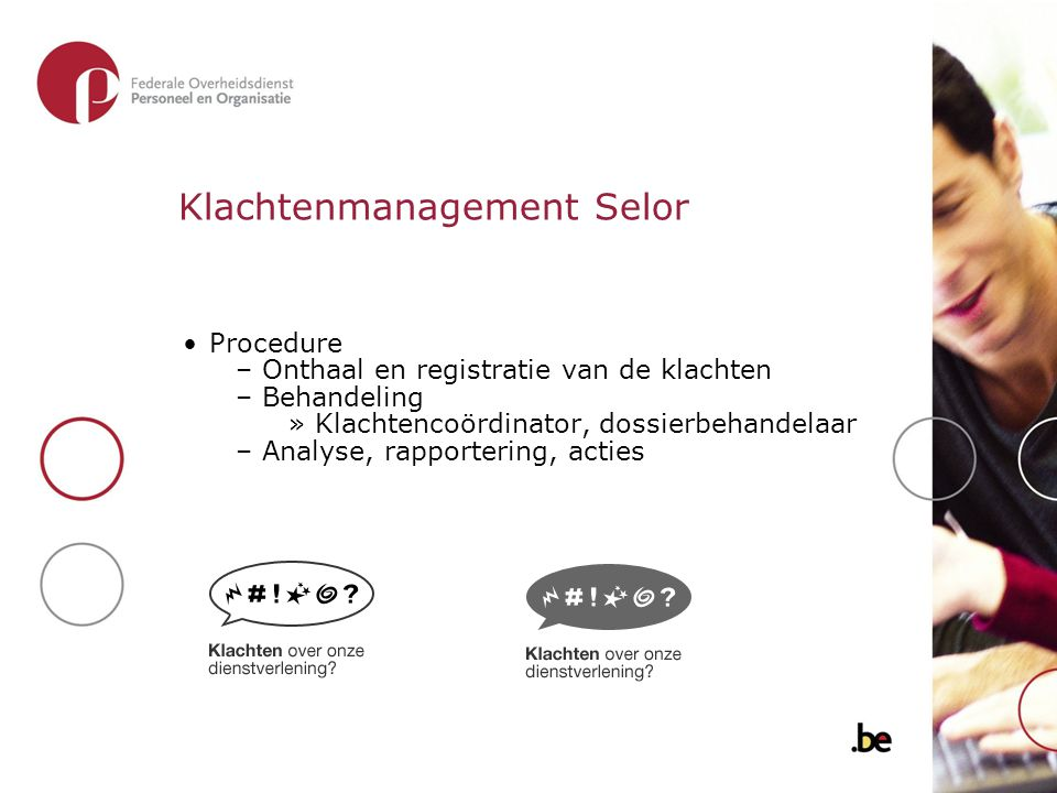 Klachtenmanagement Selor