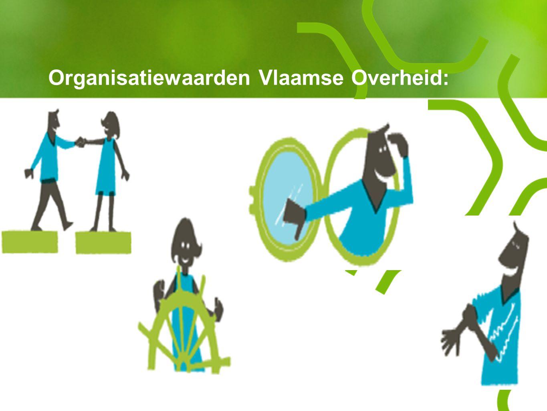 Organisatiewaarden Vlaamse Overheid: