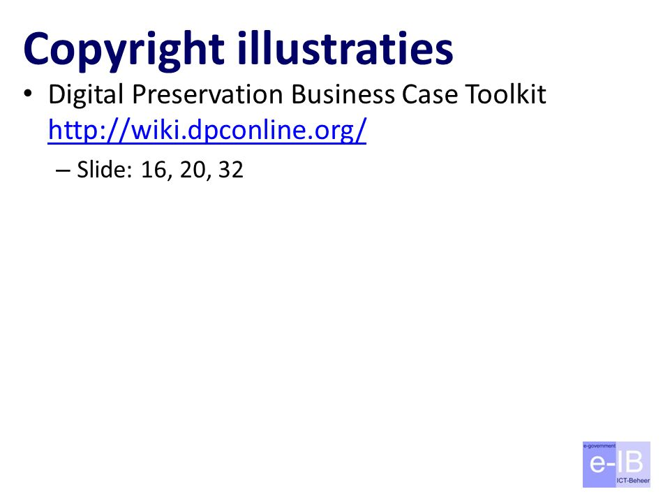 Copyright illustraties