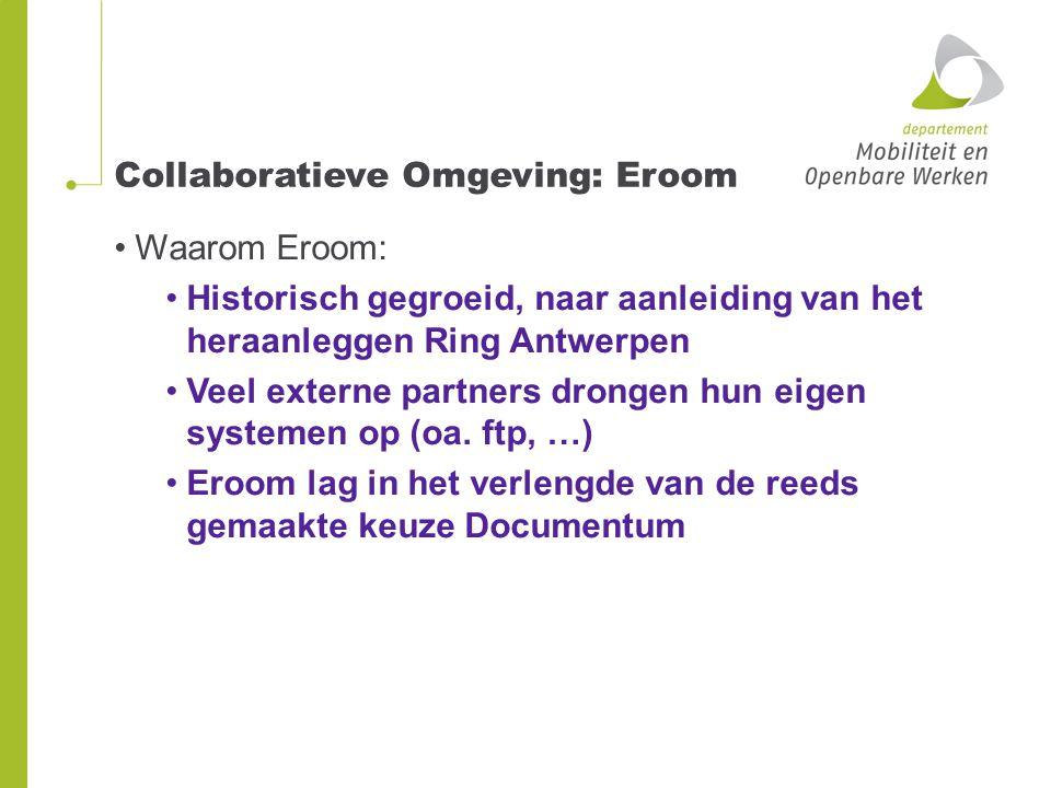 Collaboratieve Omgeving: Eroom