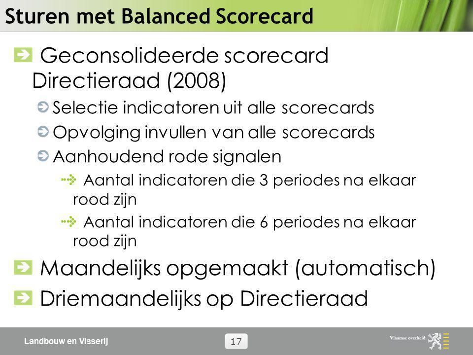 Sturen met Balanced Scorecard