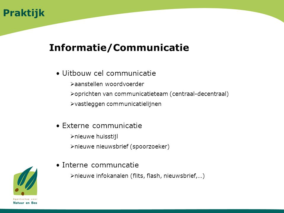Informatie/Communicatie
