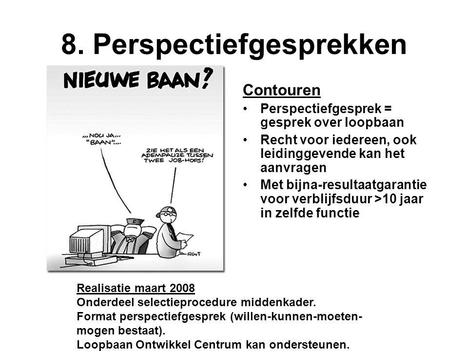 8. Perspectiefgesprekken