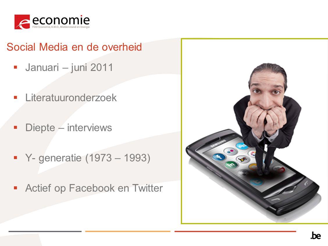 Social Media en de overheid
