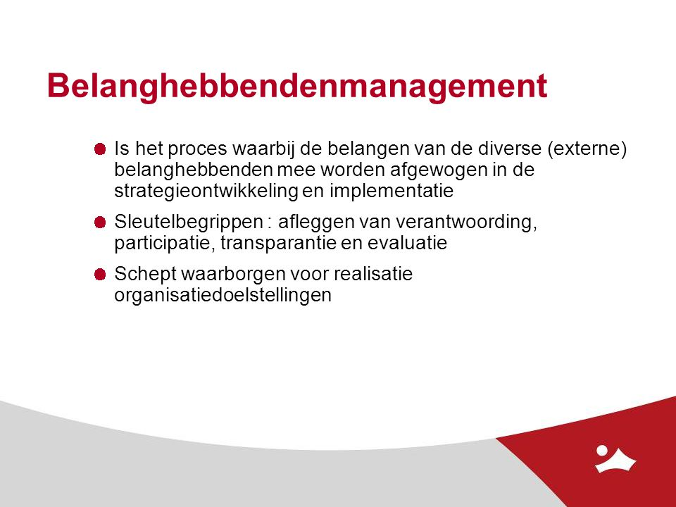 Belanghebbendenmanagement
