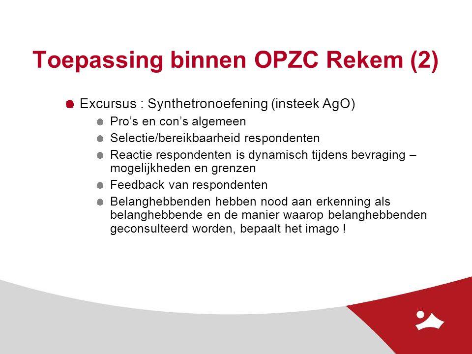 Toepassing binnen OPZC Rekem (2)