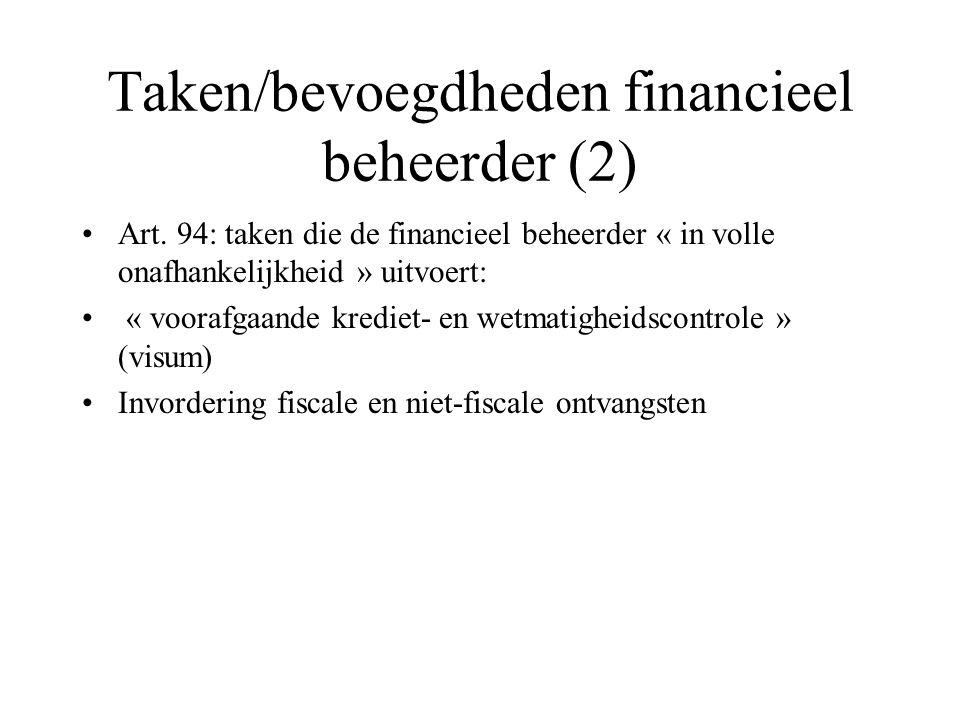 Taken/bevoegdheden financieel beheerder (2)