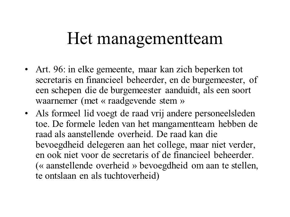 Het managementteam