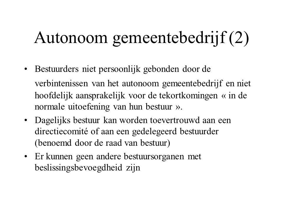 Autonoom gemeentebedrijf (2)