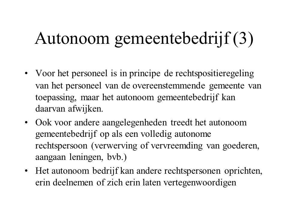 Autonoom gemeentebedrijf (3)