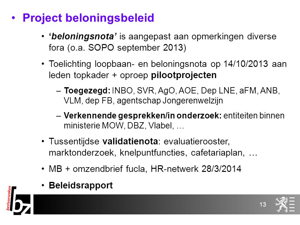 Project beloningsbeleid