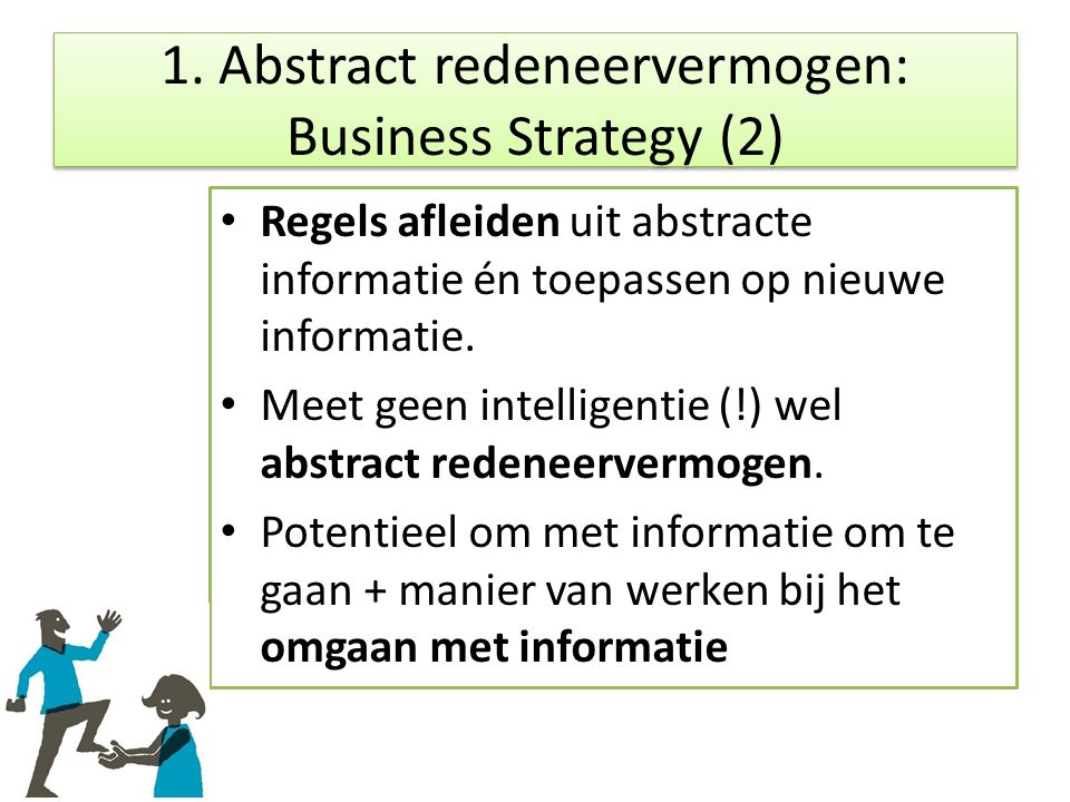 1. Abstract redeneervermogen: Business Strategy (2)