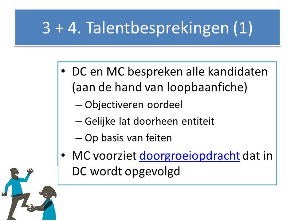 3 + 4. Talentbesprekingen (1)