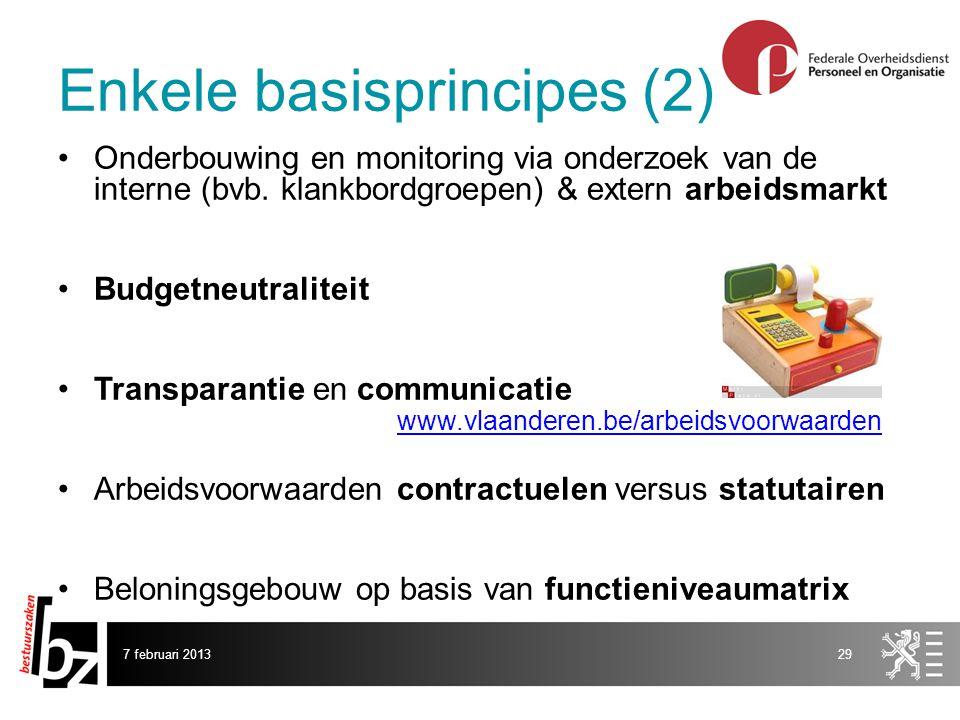 Enkele basisprincipes (2)