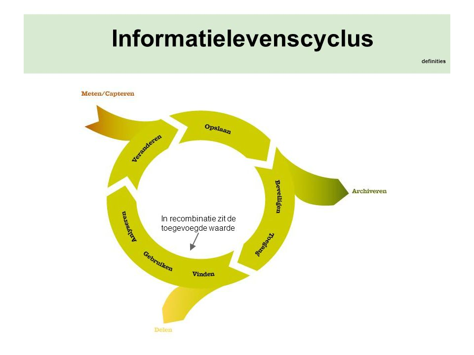 Informatielevenscyclus definities