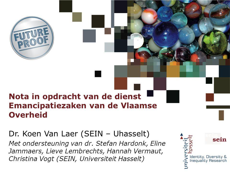 Dr. Koen Van Laer (SEIN – Uhasselt)