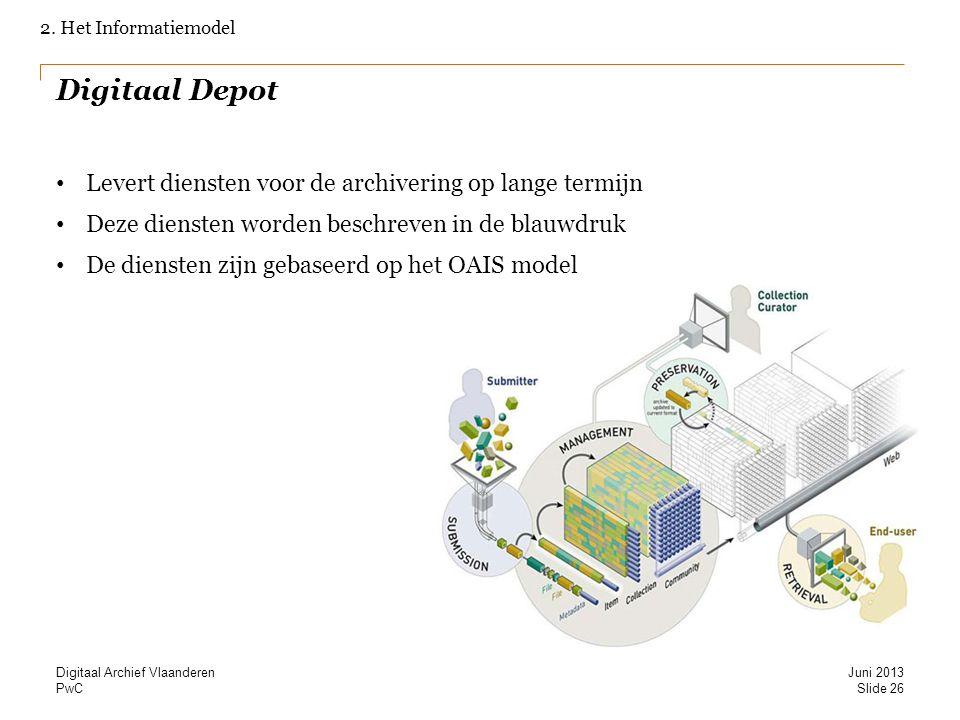 Digitaal Depot Levert diensten voor de archivering op lange termijn