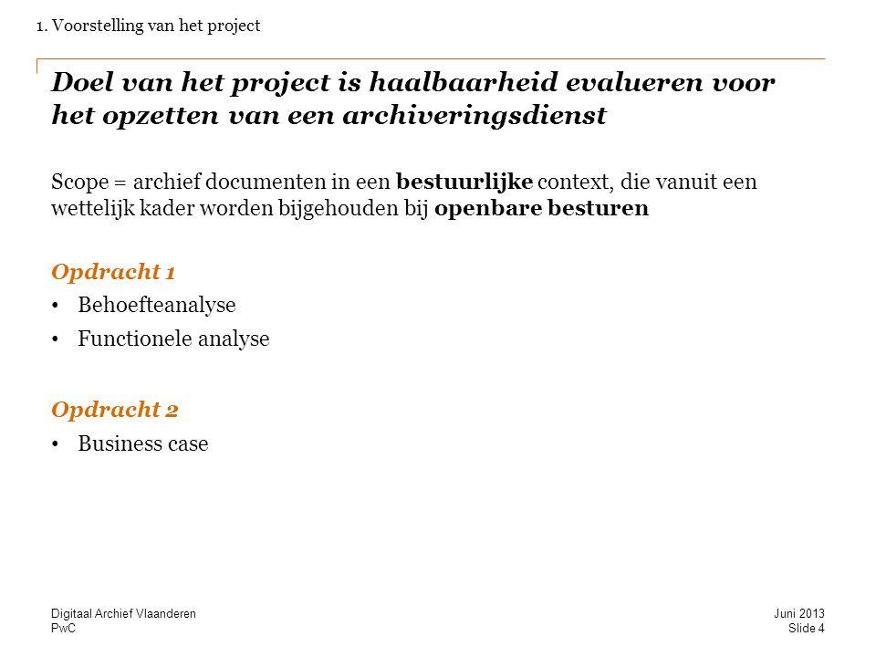 1. Voorstelling van het project