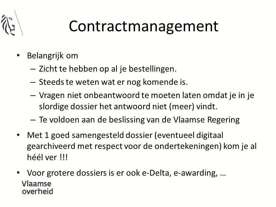 Contractmanagement Belangrijk om