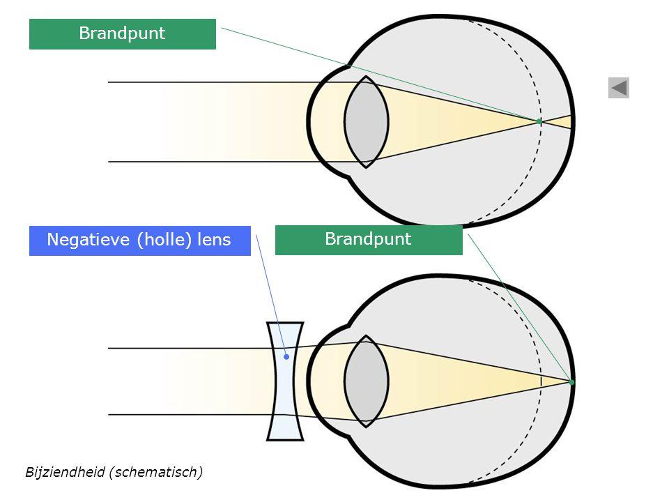 Negatieve (holle) lens
